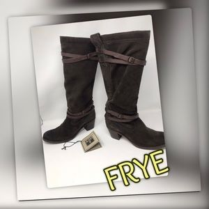 EUC * RETIRED * Frye Boots Jane Strappy Gorgeous